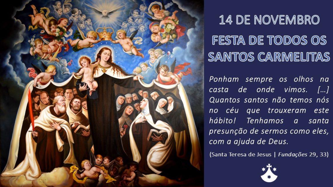 Festa de Todos os Santos Carmelitas