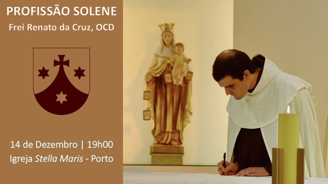 Profissão Solene do Frei Renato da Cruz