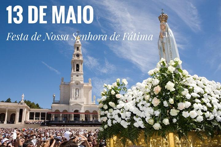 13 de Maio – Festa de Nossa Senhora de Fátima