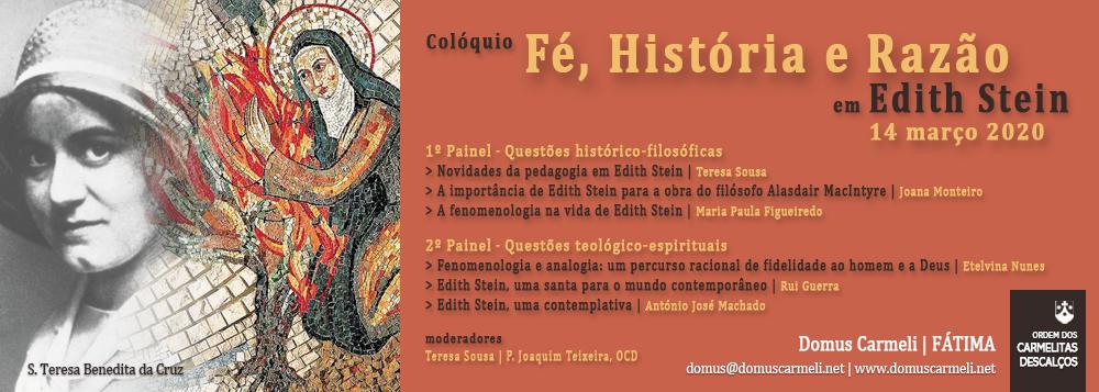 Colóquio sobre Edith Stein | Fátima